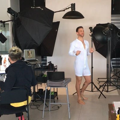 barcode Berlin Backstage Shooting Union Suit Piero