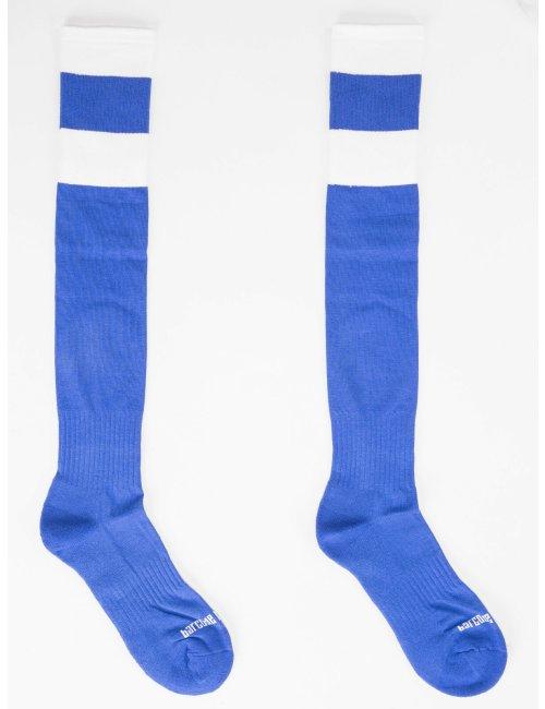 barcode Berlin Football Socks blau/weiß