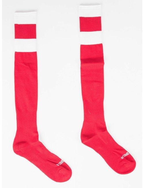 barcode Berlin Football Socks rot/weiß