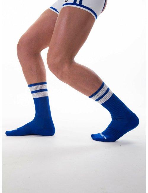 barcode Berlin Gym Socks blau/weiß