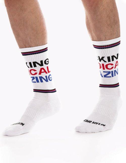 barcode Berlin Gym Socks Fucking Magical Amazing