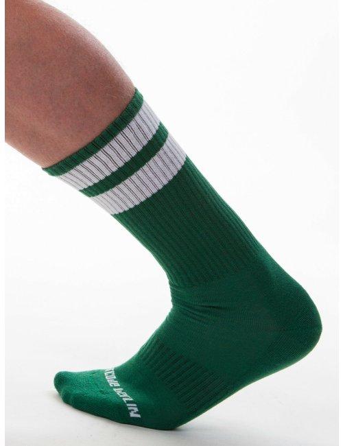 barcode Berlin Gym Socks grün/weiß