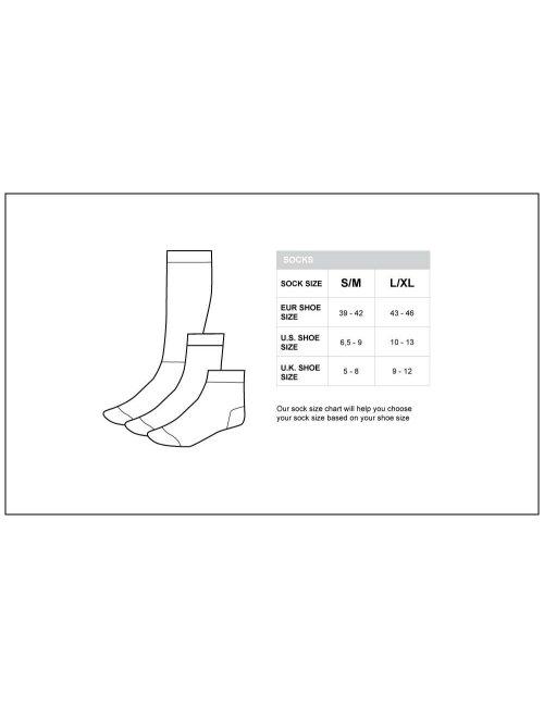 barcode Berlin Gym Socks rot/weiß