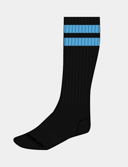 barcode Berlin Gym Socks schwarz/blau