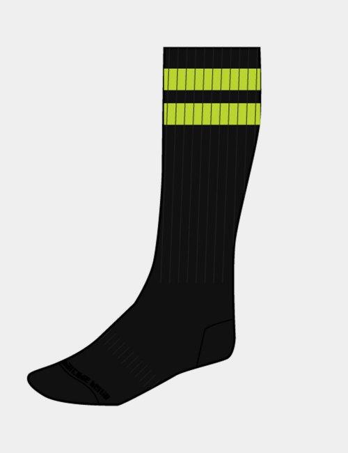 barcode Berlin Gym Socks schwarz/grün