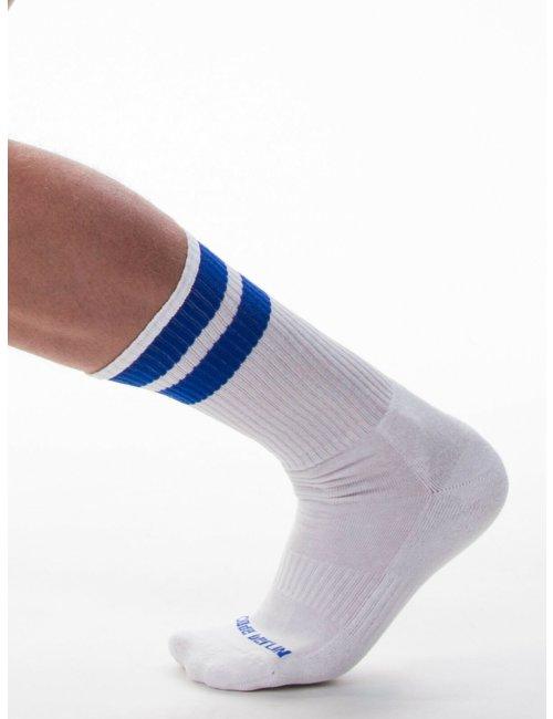 barcode Berlin Gym Socks weiß/blau