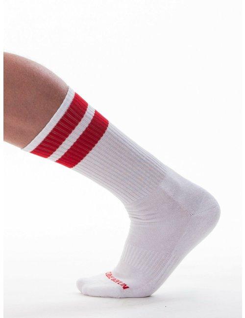 barcode Berlin Gym Socks weiß/rot