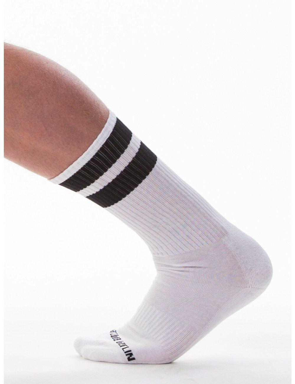 barcode Berlin Gym Socks weiß/schwarz