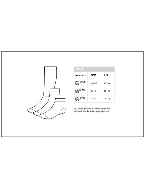 barcode Berlin Gym Socks schwarz/orange